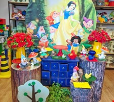 Kit Branca de Neve- Mini Table