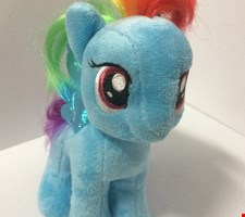 Temático My Little Pony - Rainbow Dash, Pelucia M