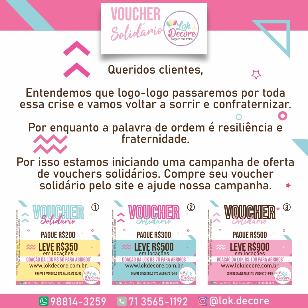 Voucher Solidário